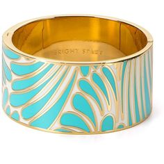 kate spade new york Bright Spark Bangle ($104) ❤ liked on Polyvore