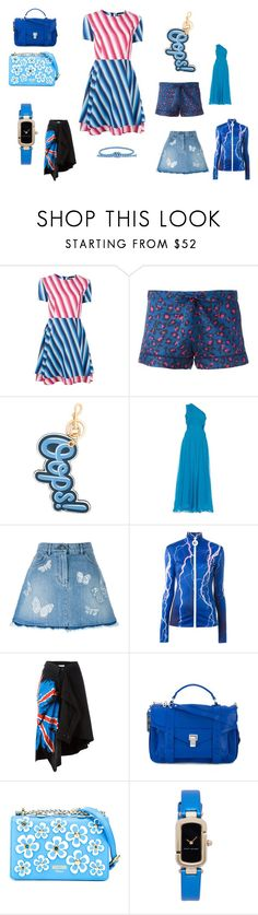"""""""world of fashion"""" by emmamegan-5678 ❤ liked on Polyvore featuring House of Holland, OTIS BATTERBEE, Anya Hindmarch, Diane Von Furstenberg, Valentino, Carven, Faith Connexion, Proenza Schouler, Moschino and Marc Jacobs"""