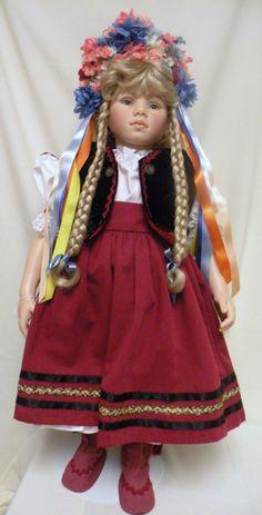 """Katalin""Signed Rotraut Schrott Gadco Hungarian Costume"