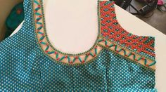Blouse Designs Silk, Designer Blouse Patterns, Blouse Neck, Saree Blouse, Blouse Desings, Blue Saree, Blouse Models, Tulips, Sarees