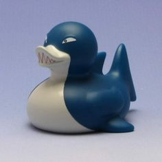 Duckshop - der Shop für Badeenten und Quietscheentchen - Badeente Hai
