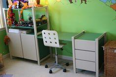 IVAR Desk Adaptation - IKEA Hackers