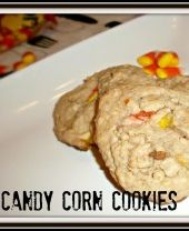 Fall Candy Corn Cookies Recipe