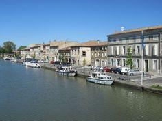 Castelnaudary, Canal du Midi www.audetourisme.com