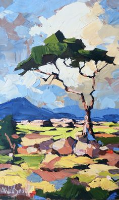 African Thorn Tree by Carla Bosch