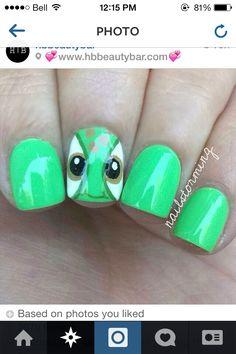Turtle Nail Art c:                                                                                                                                                                                 More