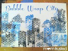 bubble wrap city lead new title blue