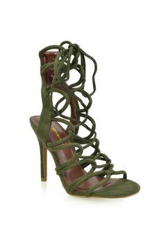 Legendary Strappy Heel