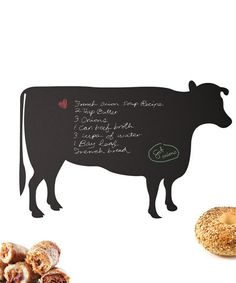 Loving this Cow Chalkboard Decal on #zulily! #zulilyfinds