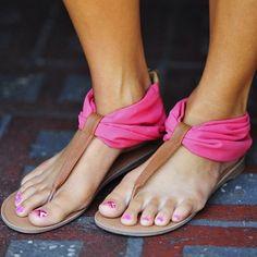 sandals :))