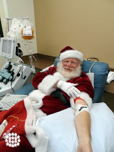 If Santa can make time to give blood during the holiday season, so can you!