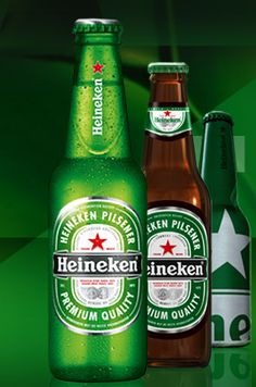 Most famous beer from The Netherlands:  Heineken