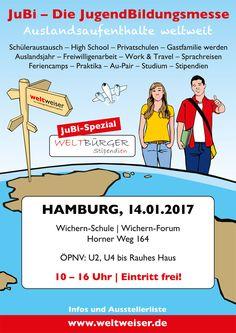 JuBi Hamburg 14.01.2017 #Hamburg #Norddeutschland #Auslandsjahr #Reisen #Jugendliche