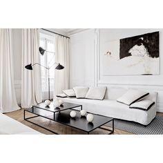 "370 gilla-markeringar, 6 kommentarer - An Interior Affair (@an.interior.affair) på Instagram: ""Nothing beats a good monochrome home Photo by Felix Forest """