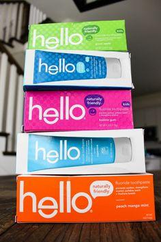 Hello #toothpaste