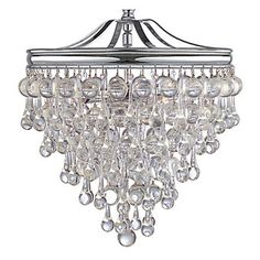 """Design Description:  Hanging Chandelier to go Over Dinner Table  Product Info:  Z Gallerie - Alexia Chandelier - 12""""W x 15.5""""H"""
