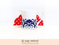 Scandi Style Jug - Retro and Vintage China, Glassware and Kitchenalia - yay retro!