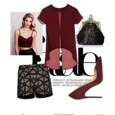A fashion look from December 2015 by irina-voskresova featuring Parisian и Gianvito Rossi