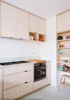 7 Ideal Cool Tips: Minimalist Home With Children Life cozy minimalist kitchen interior design.Minimalist Home Plans Design minimalist kitchen cabinets design bathroom. Farmhouse Kitchen Cabinets, Kitchen Cabinet Design, Interior Design Kitchen, Kitchen Designs, Plywood Kitchen, Plywood Cabinets, Diy Cabinets, Plywood Interior, Plywood Furniture