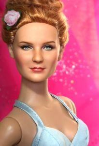Kirsten Dunst Doll by Noel Cruz Pretty Dolls, Beautiful Dolls, Barbie Celebrity, Doll Face Paint, Christmas Barbie, Diva Dolls, Bride Dolls, Realistic Dolls, Kirsten Dunst