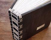 unique journal handmade blank wood book in por ThreeTreesBindery