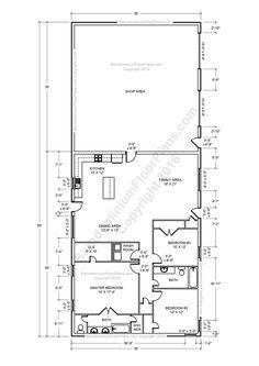Barndominium Floor Plans, Pole Barn House Plans and Metal Barn Homes | Barndominium Floor Plans. Metal Barn Homes, Metal Building Homes, Pole Barn Homes, Building A House, Building Ideas, Pole Barns, Morton Building Homes, Building Images, Building Plans