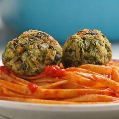 Zucchini Meatballs Recipe by Tasty