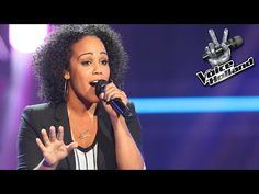 Angela Vergouwen - I Want To Know What Love Is (The Blind Auditions | The voice of Holland 2014) - YouTube