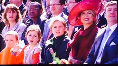 Royal Family at King's Day 2015 in Dordrecht.