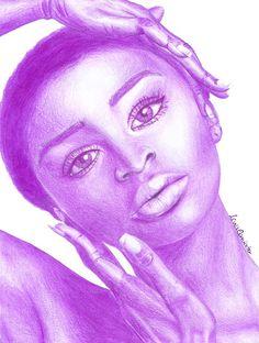 beautiful girl, realistic drawing