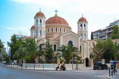 """Catedrala """"Sfântul Grigorie Palama"""" din Tesalonic - exterior (Foto: Silviu Cluci)"""