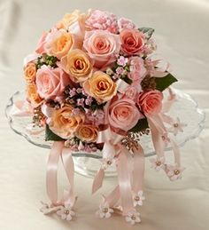 The FTD® Sweet Peach™ Bouquet - Wedding - Occasions