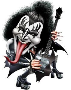 Gene Simmons - Kiss                                                                                                                                                      More