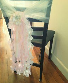 Chair Sash & other DIY ideas @ WeddingBee
