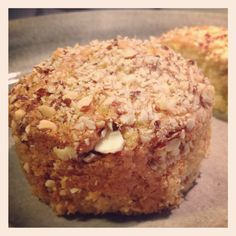 Orange / almond muffin