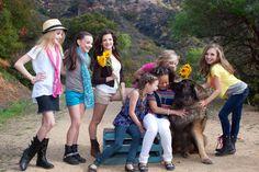 Cute doggie with the original team