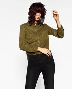 CROPPED SHIRT - Available in more colours