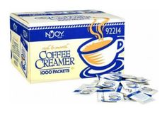 N'Joy Coffee Creamer Packets - 1,000/2.5G ** See this great product @ http://www.amazon.com/gp/product/B001YXRR9O/?tag=lizloveshoes-20&pij=070816072838