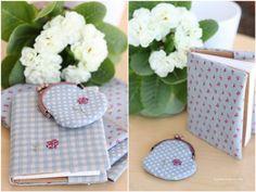 purse & notebook by dovilej, via Flickr