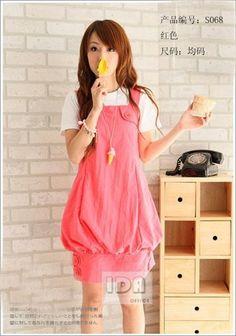 Korean lady fashion cute dress