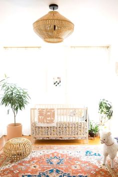Perfect Modern eclectic boy's nursery  The post  Modern eclectic boy's nursery…  appeared first on  Erre Designs .