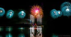 Fireworks over @Colleen Sweeney Sweeney Egan Disney World's Magic Kingdom