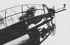 PZL P.37 chin gun
