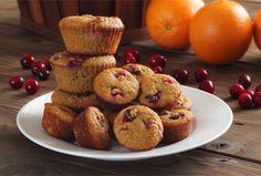 Paleo Cranberry Orange Muffins Recipe | Paleo Newbie