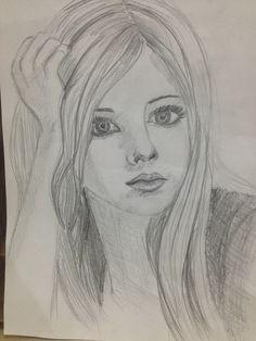 رسم وجه امرأة بالرصاص - عاصم عصام | Drawing رسم ...