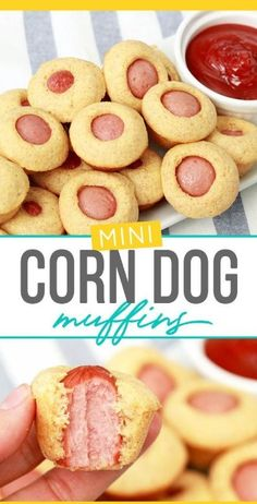 CORN DOG MUFFINS (KID-SIZED FOOD IS BACK!)