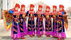 A Karakalpak national folk group members. Folk Costume, Costumes, Turkic Languages, Turkish People, Folk Dance, People Of The World, Central Asia, Anthropology, Folk Art