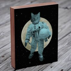 The Astronaut Cat now featured on Fab.