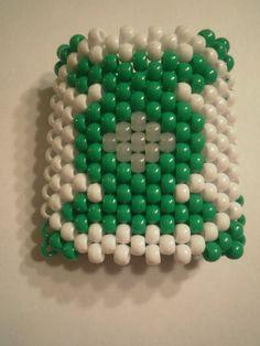 Green Lantern Kandi Cuff by KandiBar on Etsy, $12.00