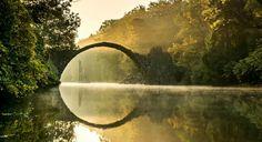 Лучшие фотографии со всего света - Мистический мост Ракотцбрюке